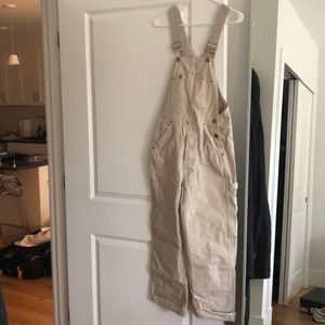 Carpenter style overalls